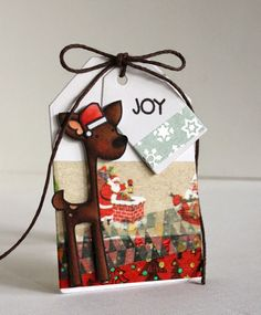 In My Creative Opinion: 25 Days of Christmas Tags - Day 22