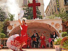 baile en las Cruces