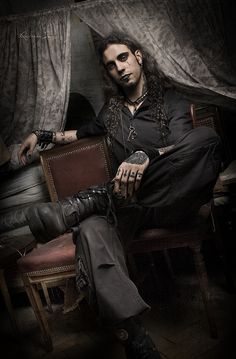 by The Vampire Source on Vampire Culture: Fashion & Style [Men Dark Fashion, Gothic Fashion, Goth Guys, Goth Men, Emo, Festivals, Gothic Mode, Gothic Art, Vampire Boy
