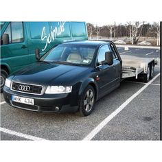 Who needs an Audi Allroad when you have A6 flat bed?!?