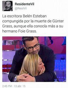 La escritora Belén Esteban compungida. #humor #risa #graciosas #chistosas #divertidas