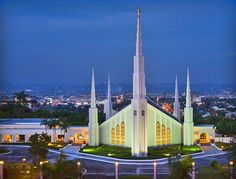 The Manila Temple (by janryllf, via Flickr)