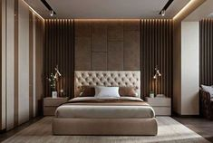 Modern bedroom design - 4 Principles for Creating the Perfect Bedroom Bedroom False Ceiling Design, Luxury Bedroom Design, Master Bedroom Interior, Modern Master Bedroom, Bedroom Furniture Design, Master Bedroom Design, Contemporary Bedroom, Master Suite, Modern Luxury Bedroom