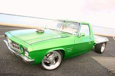 ◆ Visit MACHINE Shop Café... ◆ ~ Aussie Custom Cars & Bikes ~ (1972 HQ Holden One Tonner)