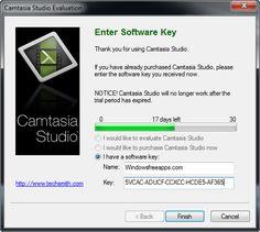 camtasia 9 serial key list