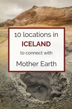 10 Places to visit in Iceland to Connect with Earth & Nature Iceland Destinations, Iceland Travel Tips, Iceland Road Trip, Travel Europe, Travel Guide, Euro Travel, Beautiful Places To Visit, Oh The Places You'll Go, Places To Travel