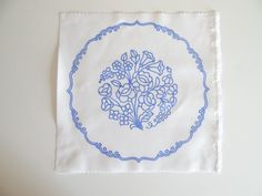Kalocsa doily pattern print from Hungary New 6 1/4'' x 6 1/4'' k DIY in Collectibles, Linens & Textiles (1930-Now), Lace, Crochet & Doilies | eBay
