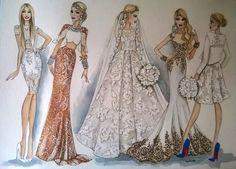 Ilustración personalizada Ilustración de moda personalizada