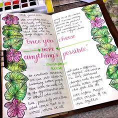 Bullet Journal Lettering Ideas, Bullet Journal Notebook, Bullet Journal Ideas Pages, Bullet Journal Inspiration, Art Journal Pages, Art Journals, Junk Journal, Bullet Journal Aesthetic, Creative Journal