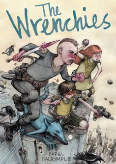 Cartoonist Farel Dalrymple brings his literary and artistic powers to bear in The Wrenchies, a sprawling science fiction graphic novel about regret, obsession, and the uncertainty of growing up. Best Books Of 2014, Best Comic Books, New Books, Good Books, Fun Comics, Comic Book Covers, Book Lists, Comic Art, Science Fiction