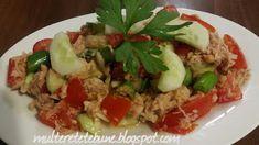 RETETE: Salata de ton cu legume