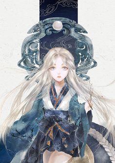 images for anime girl fantasy Manga Girl, Anime Art Girl, Manga Anime, Anime Girls, Character Art, Character Design, Chibi, Illustration Art, Illustrations