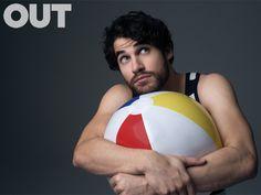 Darren Criss Wears Summer Styles for OUT, Talks Broadway
