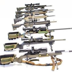Long Range Rifles.