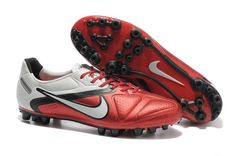 premium selection 9a415 f2bfd Nike Maestri II AG Mens Artificial Grass Football Cleats In Challenge Red  Black White