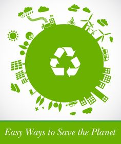 Easy ways to save the planet...although I'd skip the beehive tip!