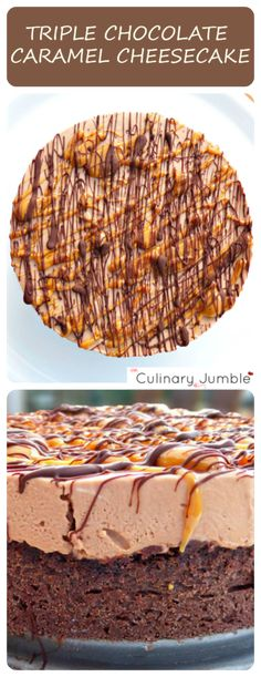 A beyond divine dessert made with chocolate and caramel and perfect for that summer-time treat!