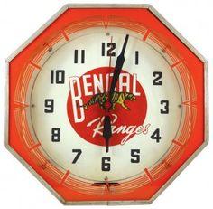 Bengal Ranges Neon clock