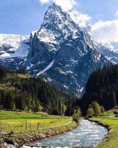 Бернер Оберланд, Швейцария