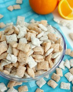Orange Creamsicle Puppy Chow