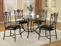 Table #150501 http://www.agmfurniture.com/dining-room/dining-sets/table-150501.html