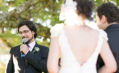Um celebrante muito especial #casamentoCaroleAndre