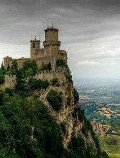 Guaita castle, San Marino, Italy