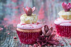 Valentine's Day Doughnut Cupcakes