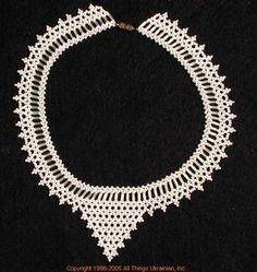 Ukrainian Gherdany Beadwork  # 05-6072 handmade in Ukraine. Originally sold on http://www.allthingsukrainian.com/Jewelry/index.htm