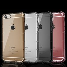 Crystal Soft TPU Cover For Iphone 7 6 6s Plus Case Armor Clear Transparent Silicone Cover Funda Shockproof Cushion Accessories #clothing,#shoes,#jewelry,#women,#men,#hats,#watches,#belts,#fashion,#style