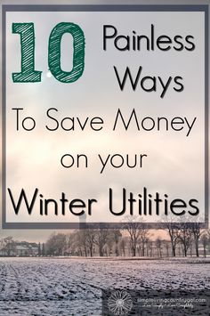 The cost of heating a home is getting more expensive, by following these 10 easy tips you can save loads off of your winter bill!