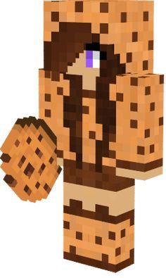 just an average cookie Minecraft Skins Girl Wolf, Minecraft Skins Animals, Minecraft Skins Female, Minecraft Skins Cute, Minecraft Baby, Minecraft Anime, Cool Minecraft, Minecraft Cookies, Minecraft Drawings