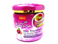 Lolane Hair Treatment Revital Hair Fall Prevent Hair Loss Bald-beetroot 250 G. Made in Thailand by BEST CHEAP. $30.00. Product Type: Hair treatment   Brand: Lolane    Variant: For Revital Hair Fall +Beetroot Extracts   Product features: Steps for Treating For Revital Hair Fall with Lolane Natura Hair Treatment  Hair fall control treatment revitalizing hair and scalp from dry and damaged hair with the innovative  Vital Hair & Scalp Complex System.  Revitalizing hair...