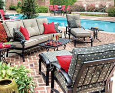 Wonderful Featured At The Patio Shop . The Premiere Patio Furniture Showroom In Chattanooga  TN