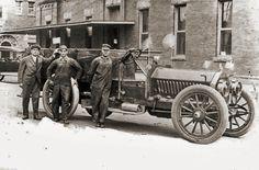 Henrietta Firemen, 1917  Henrietta, Clay Co., Texas (From Facebook, Traces of Texas)