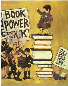 Emily Arnold McCully - 1969  Póster de la Child Week Book de EE.UU.
