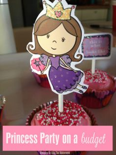 Princess Birthday Party - Reasons To Skip The Housework