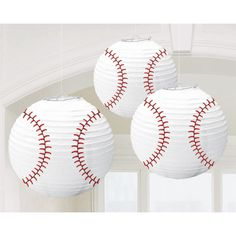 Make Baseball Lanterns