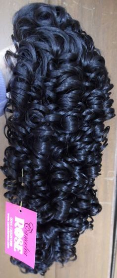 "BEAUTIFUL NEW 20"" LONG CURLY IRISH DANCE WIG HAIR FALL BEAUTIFUL RINGLETS BROWN #HairFallHalfWig"