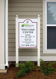 Meadowlark Apartments Signage | Signage