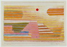 Paul Klee: Abend in Aegypten, 1929. Aquarell und Bleistift auf Papier auf Karton, 23,7 x 34,5 cm; Privatbesitz, Courtesy Galerie Kornfeld, Bern