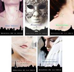 blue bloods series, melissa de la cruz  Amazing vampire series- WAY better than Twilight