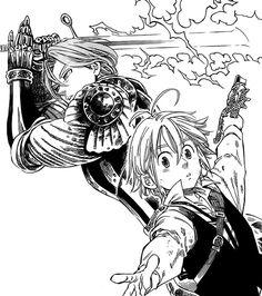 Nanatsu no Taizai the seven deadly sins