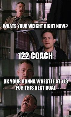 Haha...So glad IKWF doesn't have set weights during regular season