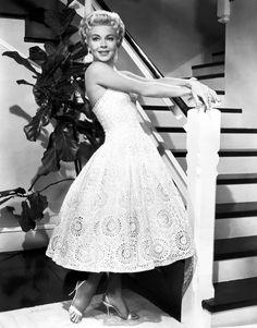 Lana Turners beautiful dress in Imitation Of Life