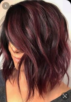 34 Latest Hair Color Ideas for 2019 - Get Your Hairstyle Inspiration for Next Se. - 34 Latest Hair Color Ideas for 2019 – Get Your Hairstyle Inspiration for Next Season – Latest H - Ombre Hair, Hair Color Balayage, Subtle Balayage, Burgundy Balayage, Balayage Bob, Hair Color Shades, Hair Color Purple, Hair Color For Black Hair, Curly Hair Colour Ideas