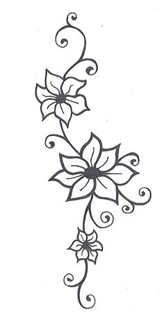 ... | Pinterest | Flower Vines, Vine Tattoos and Flower Vine Tattoos