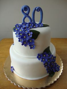 Violet Cake. You don't have to wait till you are 80,