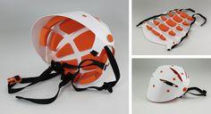 casco para bicicleta diseño industrial