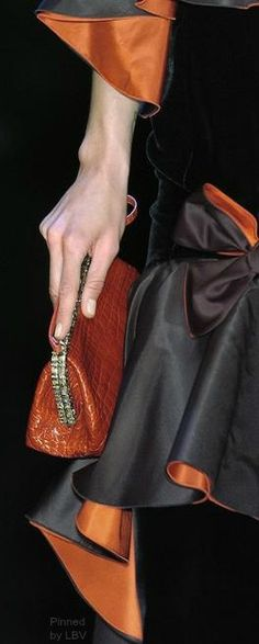 Valentino in details  | LBV ♥✤ Anyone can make a dress - fashion is all in the details!!